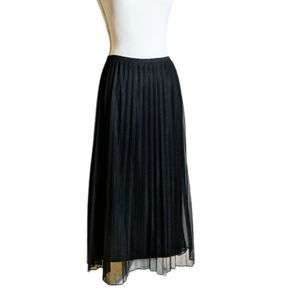 Norton McNaughton Black Pleated Skirt sz XL